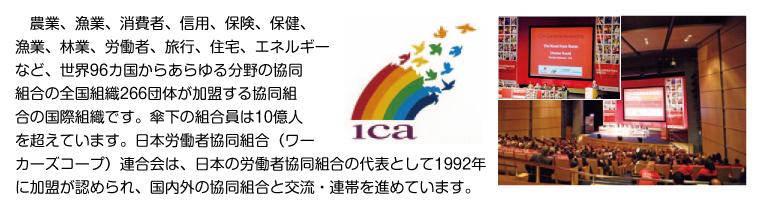 国際協同組合同盟(ICA)
